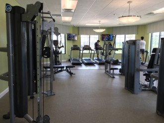 Clubhouse Gym with Weights