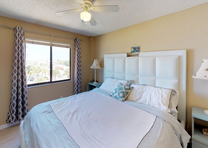 3rd bedroom is a second Master with SuperNew Mattress and Bedroom furniture!