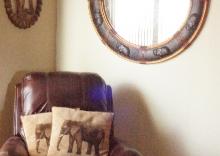 Master bedroom Elephant decor