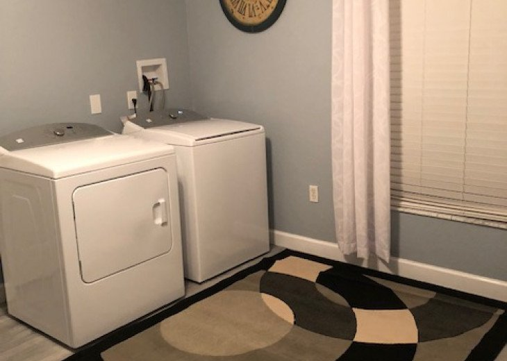 Laundry room inside