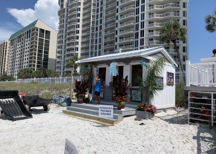 Beach Attendant Hut