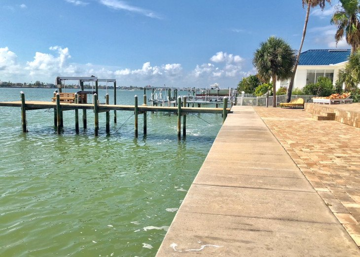 Waterfront Island Vacation House Completely Furnished w pool dock w boat lift #54