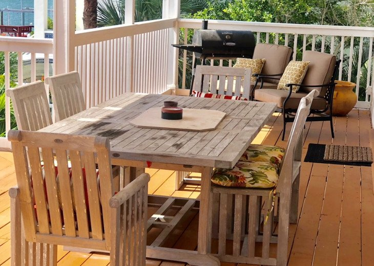 Waterfront Island Vacation House Completely Furnished w pool dock w boat lift #51