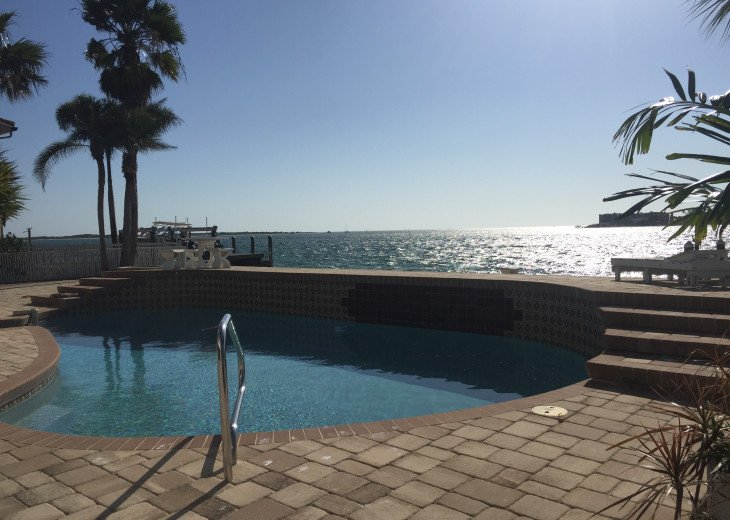 Waterfront Island Vacation House Completely Furnished w pool dock w boat lift #6