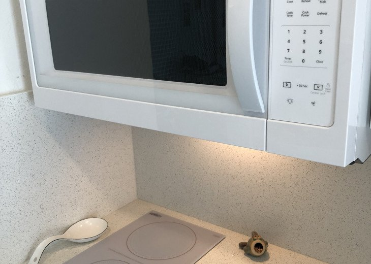 Everything is new... modern cooktop range