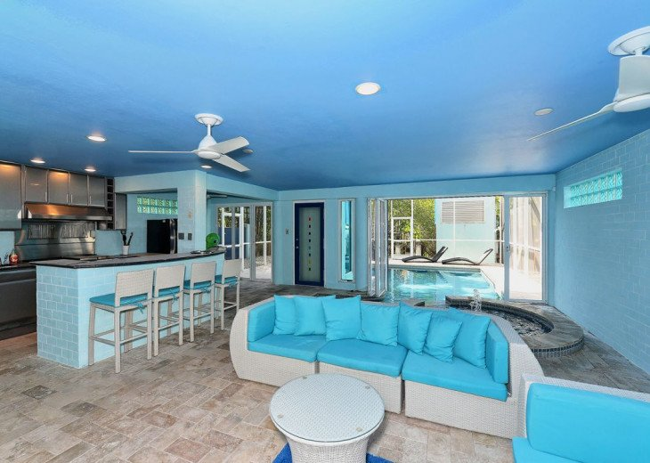 THE BLUE HOUSE - LUXURY VILLA SIESTA KEY- 10 PERS. 2 MN FROM THE BEACH #19