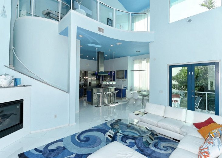 THE BLUE HOUSE - LUXURY VILLA SIESTA KEY- 10 PERS. 2 MN FROM THE BEACH #7