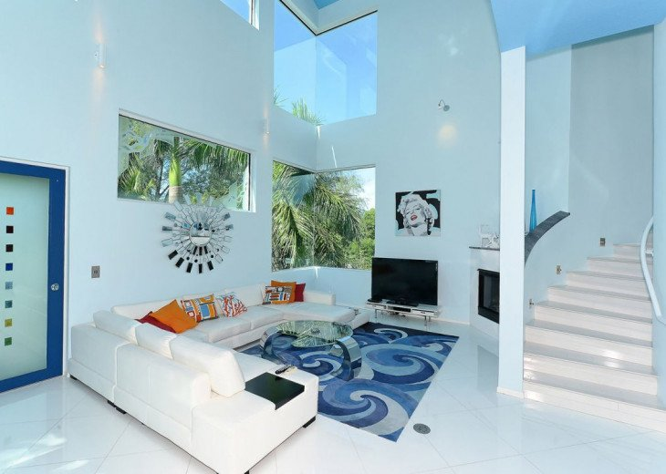 THE BLUE HOUSE - LUXURY VILLA SIESTA KEY- 10 PERS. 2 MN FROM THE BEACH #5