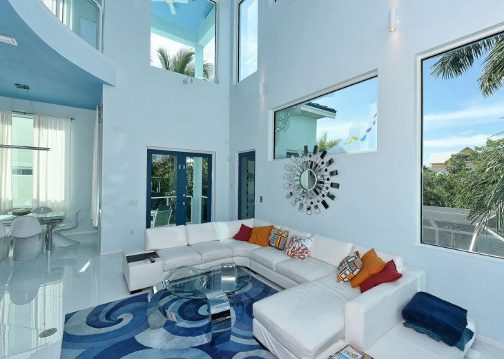 THE BLUE HOUSE - LUXURY VILLA SIESTA KEY- 10 PERS. 2 MN FROM THE BEACH #6