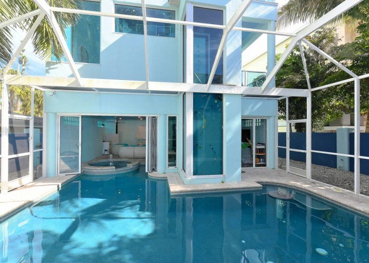 THE BLUE HOUSE - LUXURY VILLA SIESTA KEY- 10 PERS. 2 MN FROM THE BEACH #16