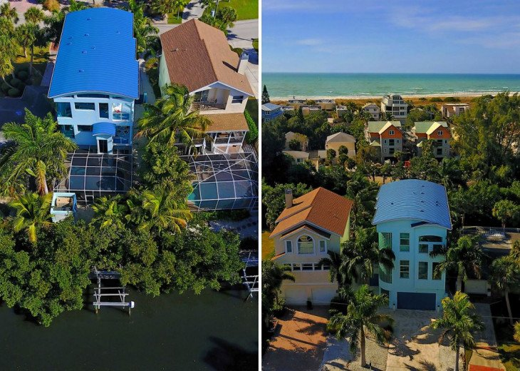 THE BLUE HOUSE - LUXURY VILLA SIESTA KEY- 10 PERS. 2 MN FROM THE BEACH #3