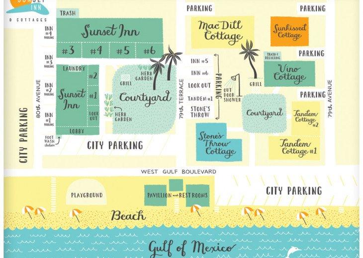 Sunset Inn & Cottages- 1 Bdrm/1 Bath-#1 on Trip Advisor- Treasure Island FL #69