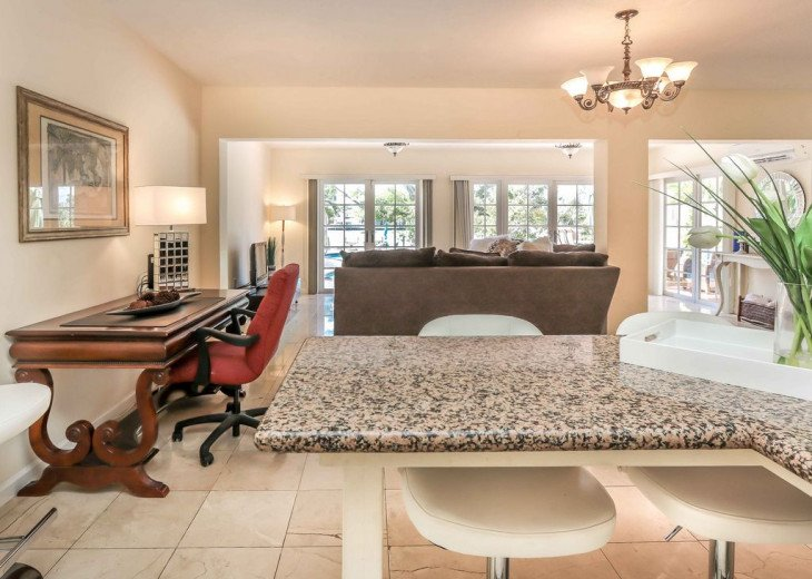 Exclusive Waterfront Home- 1-mile to beach, on Intercoastal, Heated Pool #12