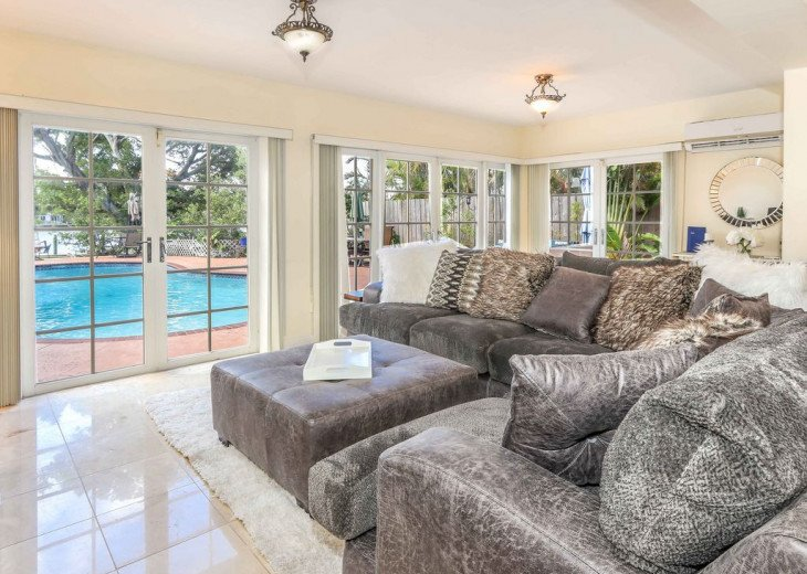 Exclusive Waterfront Home- 1-mile to beach, on Intercoastal, Heated Pool #5