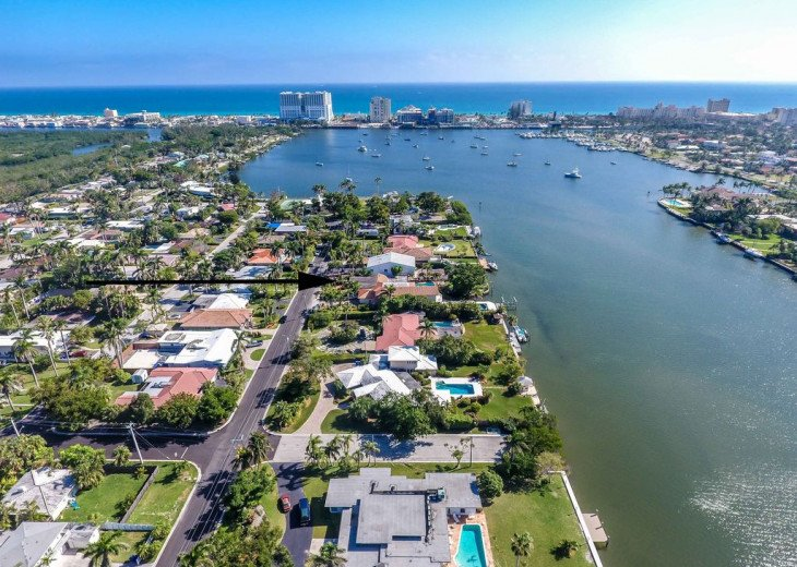 Exclusive Waterfront Home- 1-mile to beach, on Intercoastal, Heated Pool #2