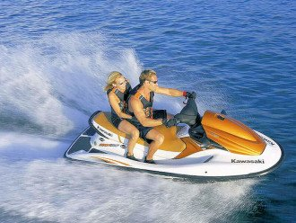 JET SKI RENTALS AVAILABLE ON THE BEACH .