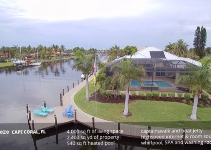 Bahama Breeze - Large Pool & Spa Facing to the Southwest on Intersecting Canals #42