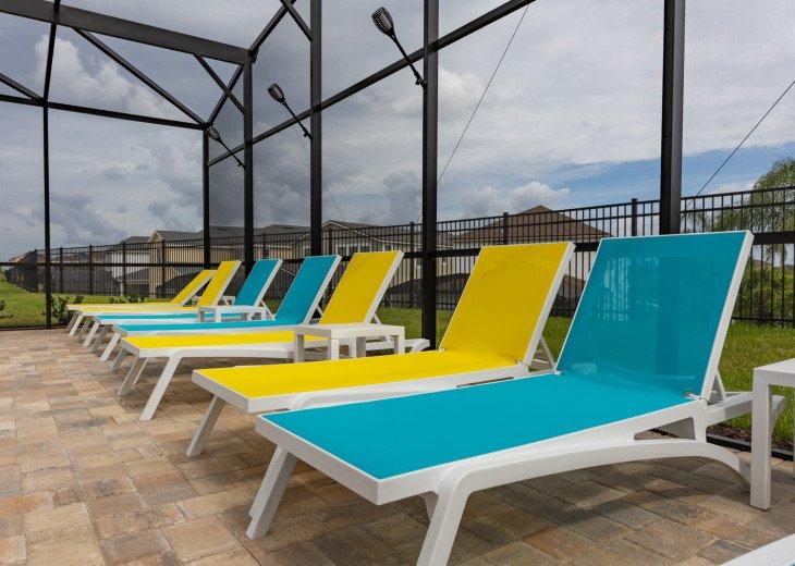 5 Bedroom House Rental in Kissimmee, FL - Solara Luxury | Amazing