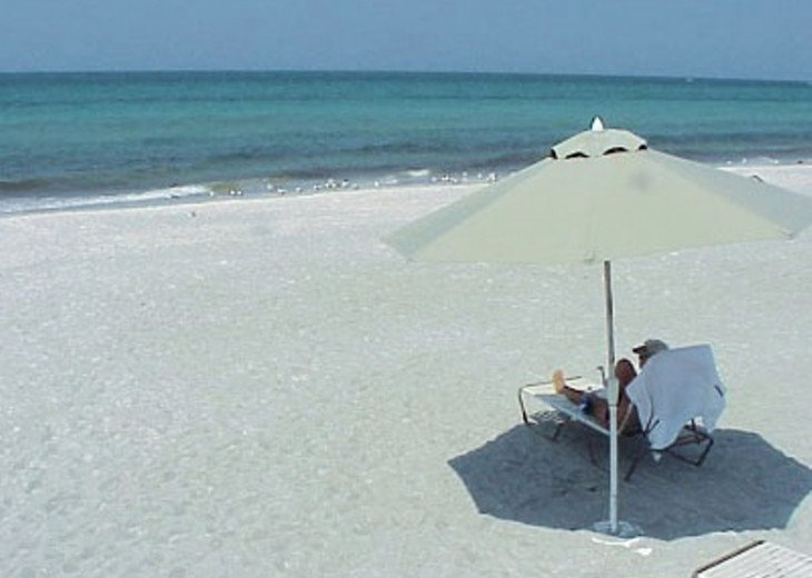 Relax on the Beach in a Comfortable Lounge Chair