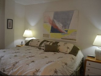 Bedroom with King Pillow Top Mattress