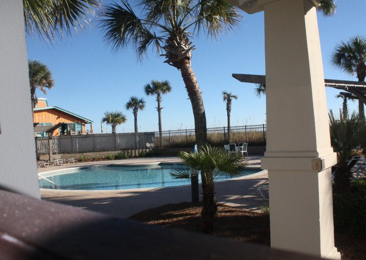 Second gulf front pool is seasonally heated