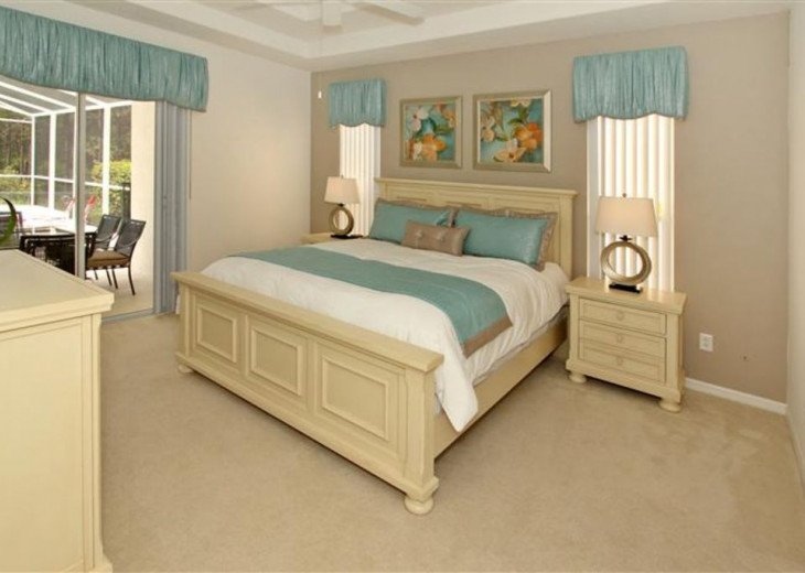 Close to Disney World Orlando Luxury 6BR/4.5BA South Facing Pool #8