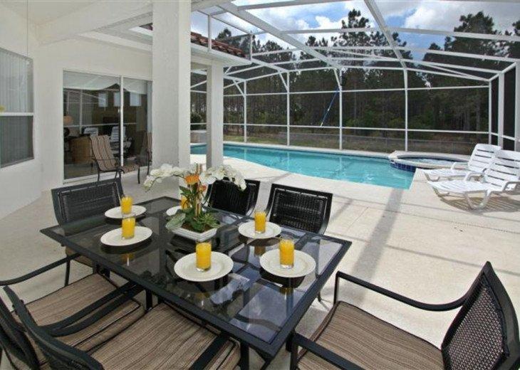 Close to Disney World Orlando Luxury 6BR/4.5BA South Facing Pool #22