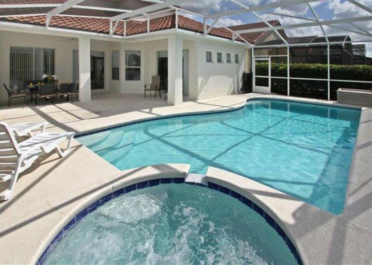 Close to Disney World Orlando Luxury 6BR/4.5BA South Facing Pool #29