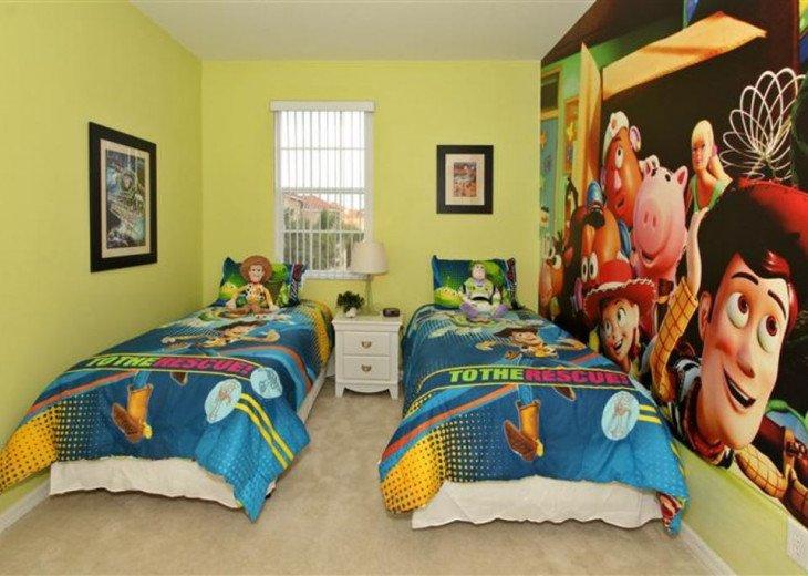 Close to Disney World Orlando Luxury 6BR/4.5BA South Facing Pool #14