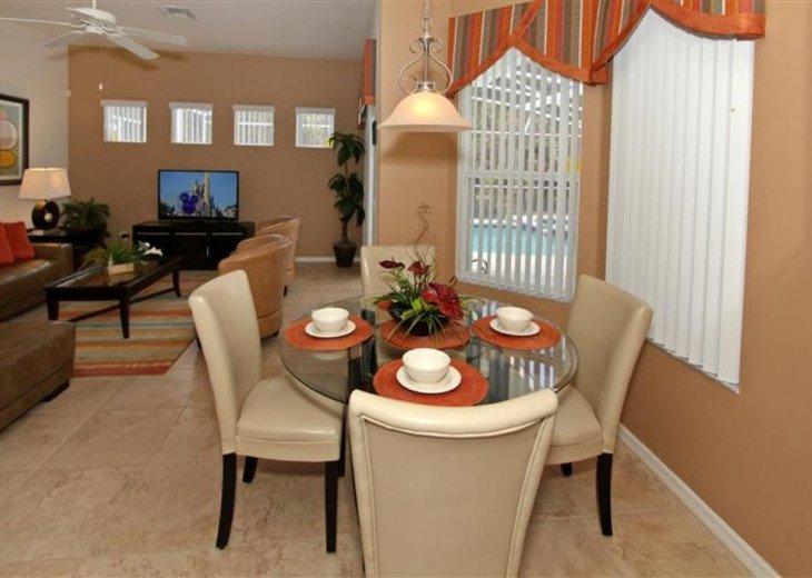 Close to Disney World Orlando Luxury 6BR/4.5BA South Facing Pool #4