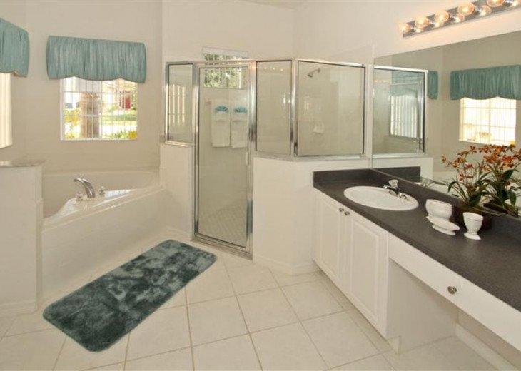 Close to Disney World Orlando Luxury 6BR/4.5BA South Facing Pool #9