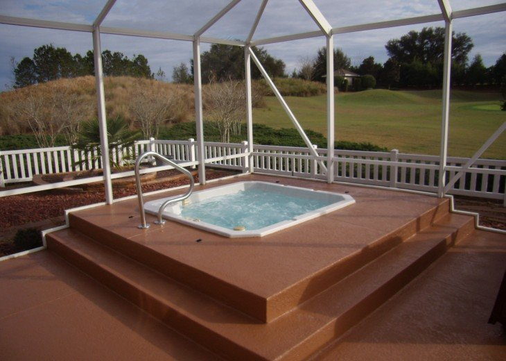 Golf Front Courtyard Villa with Heated Spa #34