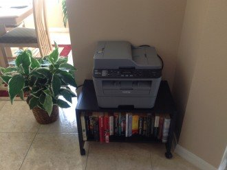 Printer station ,if you are a business person or need to print out ...