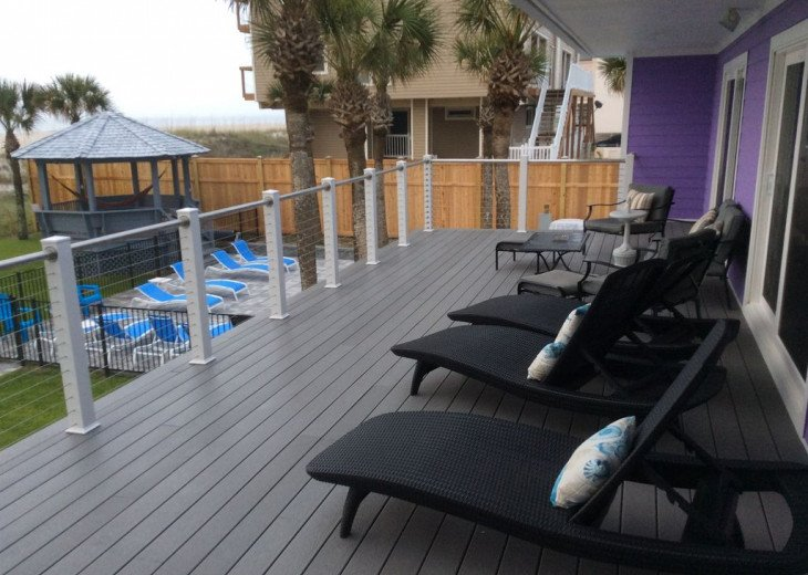 Love Shack Oceanfront 5 Master King Suites Pool Home Sleeps 14 #2