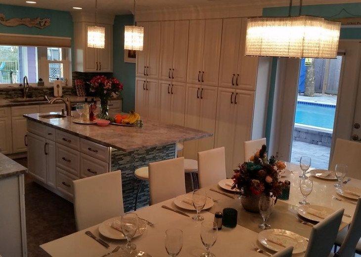 Love Shack Oceanfront 5 Master King Suites Pool Home Sleeps 14 #12