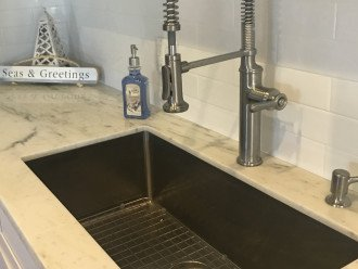 Huge stainless sink