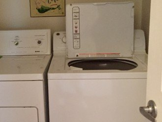 Same floor laundry room