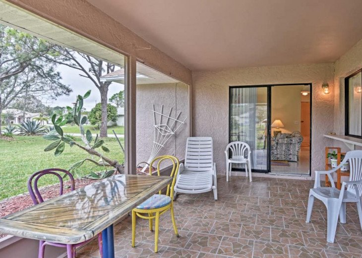 Palm Bay Home w/ Screened Lanai - 13 Mi. to Beach! #21