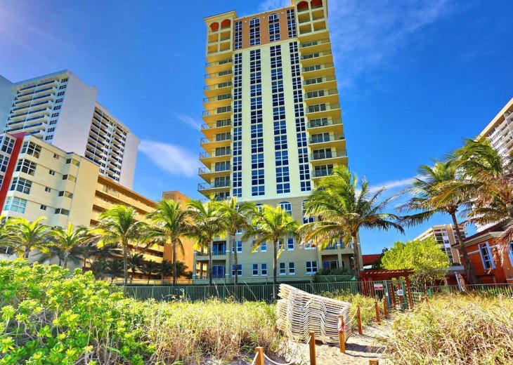 Luxury High-Rise Condo on the Beach at 2080 S. Ocean Dr. #45
