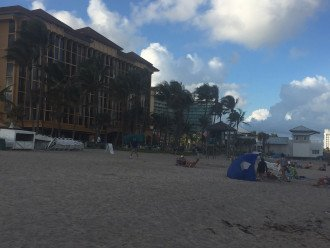 "Deerfield Beach Condo behind the ""Wyndham"" on the beach! #1"