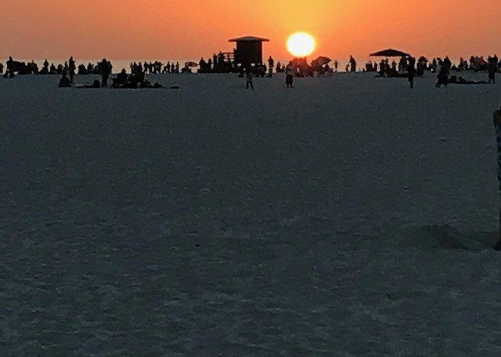Amazing Sunsets every night on Siesta Key Beach