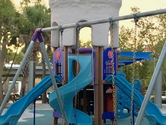 Playground for kids at the Beach