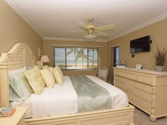 Master Bedroom with private entry to lanai. Great View right from your bed.