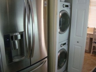 LE French Door refrigerator and Front Load Washer/Dryer
