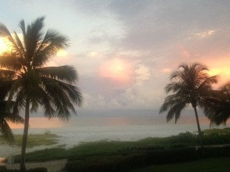 Can you believe this was taken from our lanai during sunrise. BEAUTIFUL!
