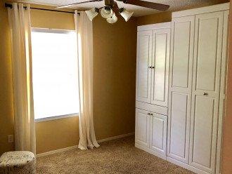 Guest bedroom Murphy bed