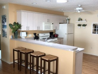 Eat in kitchen with breakfast bar