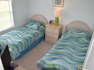 Bedroom Three With Two Twin Beds
