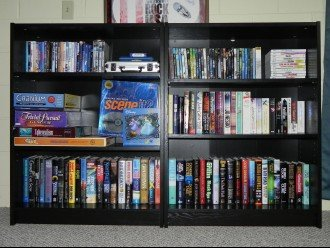 DVDs, Games, Books, Board Games, and More!