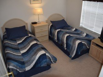 Bedroom Four With Two Twin Beds